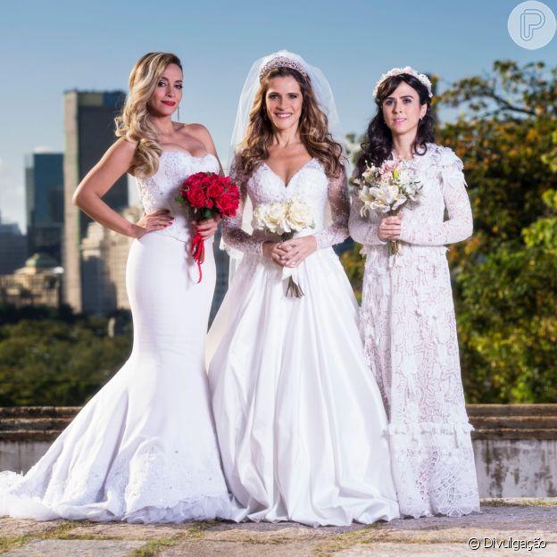 Vestidos de noiva e muitas gargalhada em 'Loucas para Casar', no Telecine