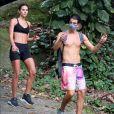 Bruna Marquezine e Enzo Celulari foram vistos juntos pela primeira no início de 2021