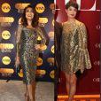 Juliana Paes escolhe vestido Dolce & Gabanna com modelo parecido ao que Sophie Charlotte usou na festa de 'O Rebu'