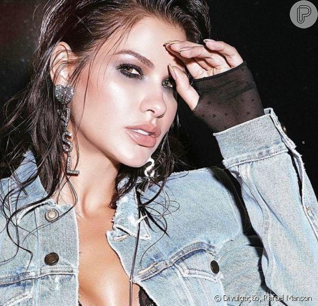 Make marcada e R$ 14 mil em acessórios: Andressa Suita encanta famosas com look rocker