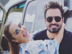 Maiara se diverte com filha de Fernando Zor e mostra look combinando: 'Floridas'