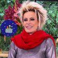 Ana Maria Braga parabenizou Tiago Leifert por atuação ao substituir Faustão na TV