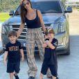 Filhos de Gusttavo Lima e Andressa Suita foram vistos com casal em Brasília