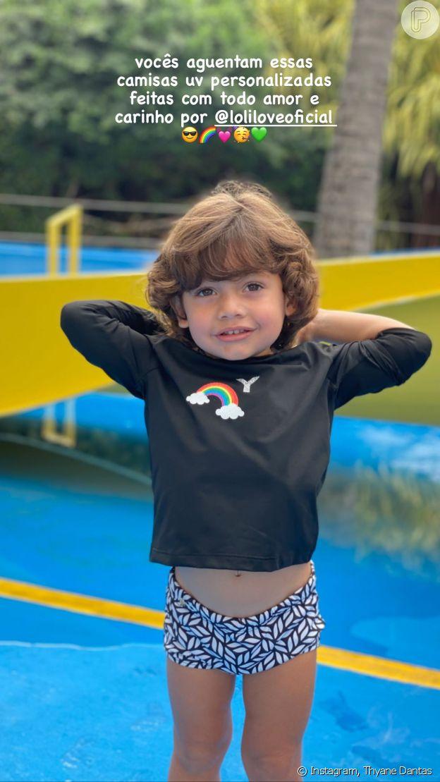 Dom, filho mais novo de Wesley Safadão, de 2 anos, rouba a cena com carisma e fofura em aniversário de 7 anos da irmã Ysis