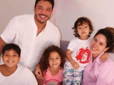 Wesley Safadão e Thyane Dantas fazem surpresa em aniversário de 7 anos da filha: 'Princesa'