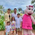 Wesley Safadão comemora aniversário de 7 anos filha com Thyane Dantas no Beach Park, em Fortaleza (CE)