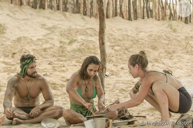Carol Peixinho e Bil Araújo eram da mesma tribo no reality 'No Limite'