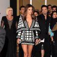 Alessandra Ambrosio chega ao Grammy Latino 2014