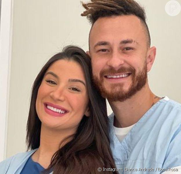 Boca Rosa já chegou à maternidade para o nascimento do filho Cris