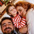 Rafa Brites e Felipe Andreoli já são pais de Rocco