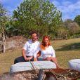 Rafa Brites e Felipe Andreoli não revelaram o tempo de gravidez da artista