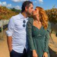 Felipe Andreoli também falou sobre a gravidez de Rafa Brites em sua rede social