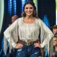 Rafa Brites foi parabenizada por Monica Benini, mulher de Junior Lima