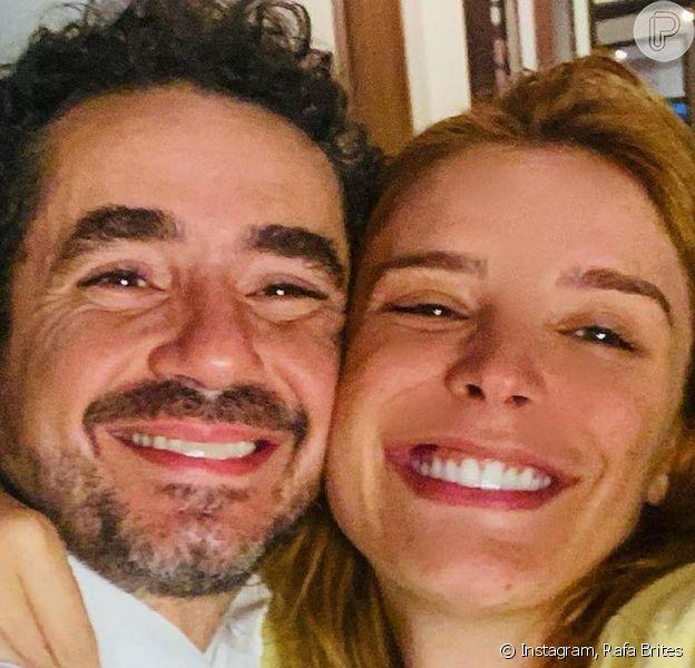 Rafa Brites e Felipe Andreoli vão ser pais de novo!