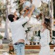 Biah Rodrigues está grávida de Fernanda, sua filha com Sorocaba