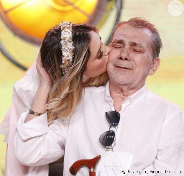 Virgínia Fonseca reforma quarto do pai internado em hospital de Goiânia, para recebê-lo quando tiver alta