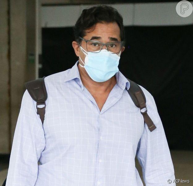 Luciano Szafir falou sobre os mais de 30 dias que ficou internado com Covid-19 em um hospital do Rio