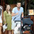 Rafael Cardoso dividiu os cuidados de Aurora com sua mulher, Mariana Bridi
