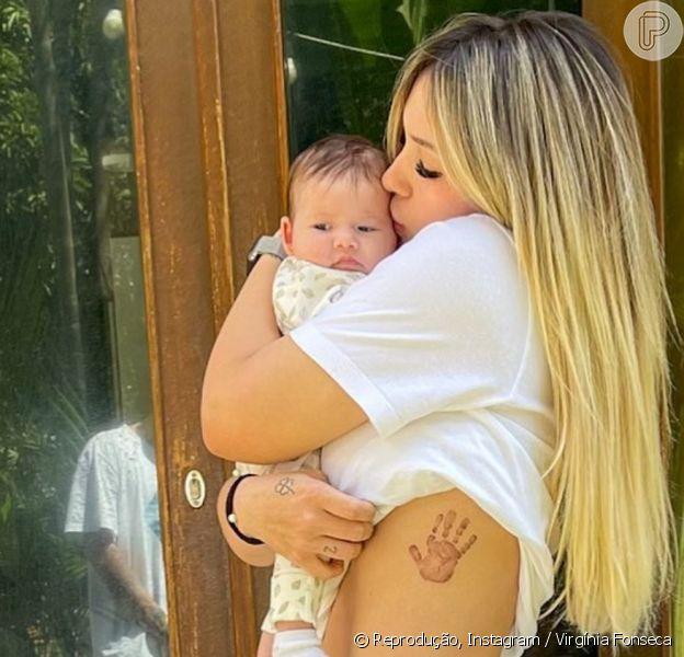 Virgínia Fonseca falou dos desafios como mãe de primeira viagem