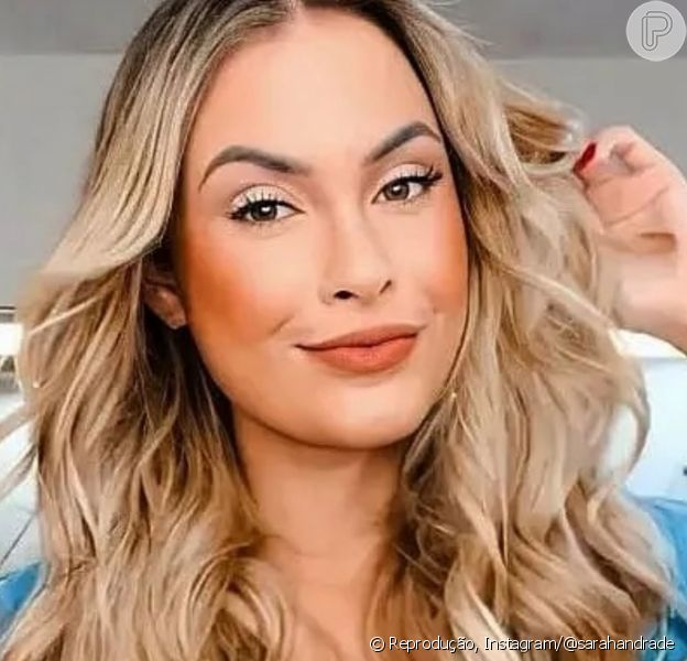 Ex-BBB Sarah Andrade surge mais loira e Lucas Viana aprova visual renovado: 'Radiante'