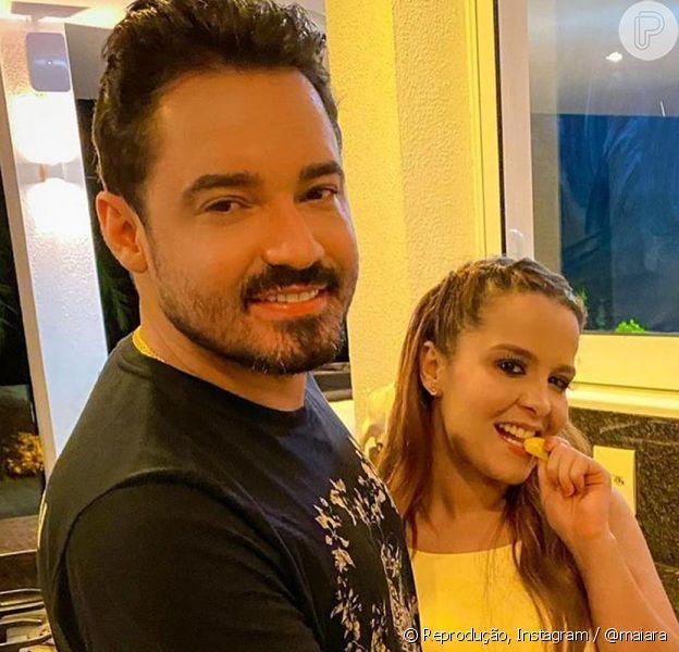 Maiara e Fernando Zor surgem aos beijos em viagem e afastam suspeitas de separação