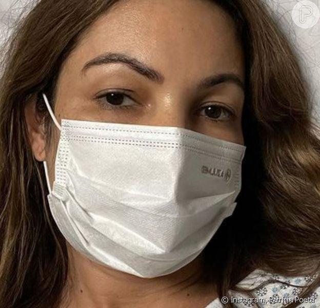 Patrícia Poeta está internada há uma semana após sofrer cirurgia de emergência