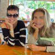 Maitê Proença ironizou as perguntas sobre um suposto romance com Adriana Calcanhotto