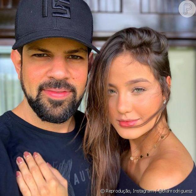 Biah Rodrigues escolhe foto do início do namoro com Sorocaba para dar parrabéns ao sertanejo