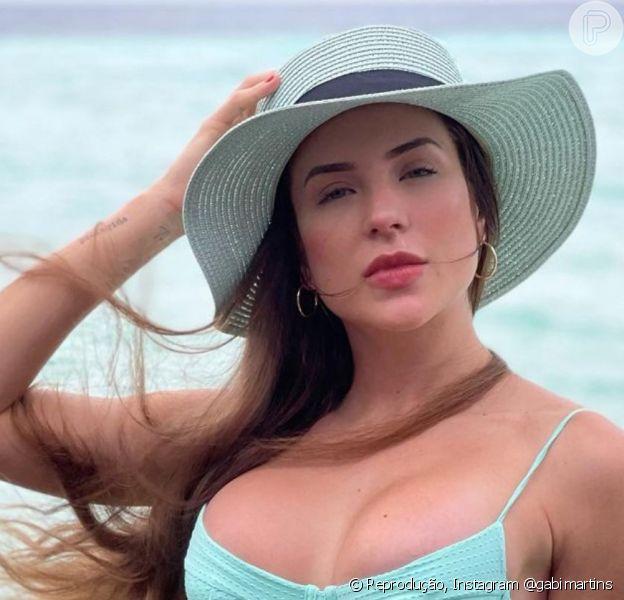 Beleza de Gabi Martins chamou atenção na web