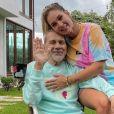 Pai de Virgínia foi internado pela primeira vez em julho