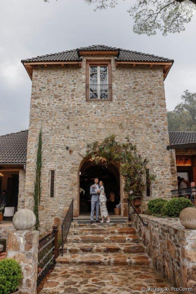 Casamento de Carol Celico teve inspiração em campo na Toscana, Itália