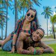 Deolane Bezerra, viúva de MC Kevin, foi criticada por internautas, ao postar viagens e eventos, 'ostentando' após a morte do cantor