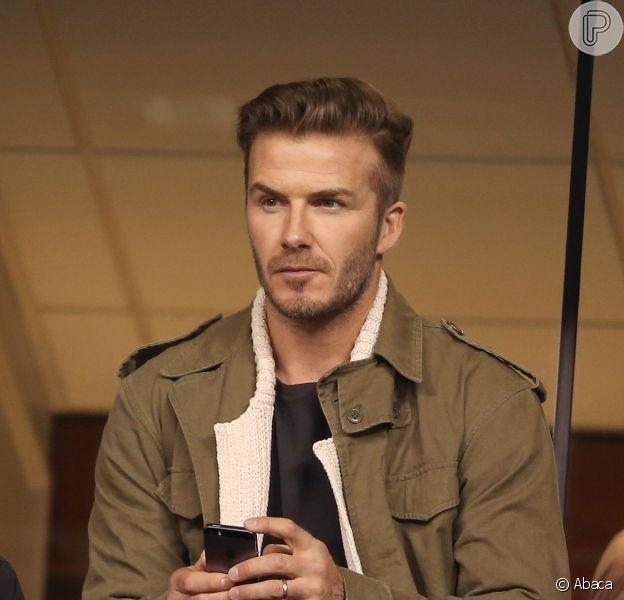 David Beckham teve ferimentos leves após sofrer acidente de carro na Inglaterra