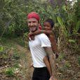 David Beckham gravou documentário na Amazônia