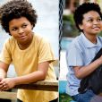 No mês de setembro o ator mirim JP Rufino precisou aparar o cabelo black para dar vida ao menino Azeitona da novela 'Alto Astral