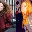 Kristen Stewart pintou os cabelos de laranja, em abril, para viver personagem de seu novo filme, 'American Ultra'