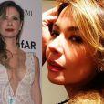 Luciana Gimenez clareou os cabelos no mês de abril