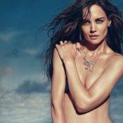 Sem o controle de Tom Cruise, Katie Holmes posa sexy para campanha de joias