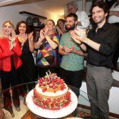 Vera Fischer comemora 63 anos ao lado dos filhos e amigos: 'Ficamos mais sábios'