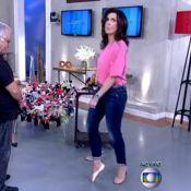 'Encontro': Fátima Bernardes relembra tempos de bailarina e fica na ponta do pé
