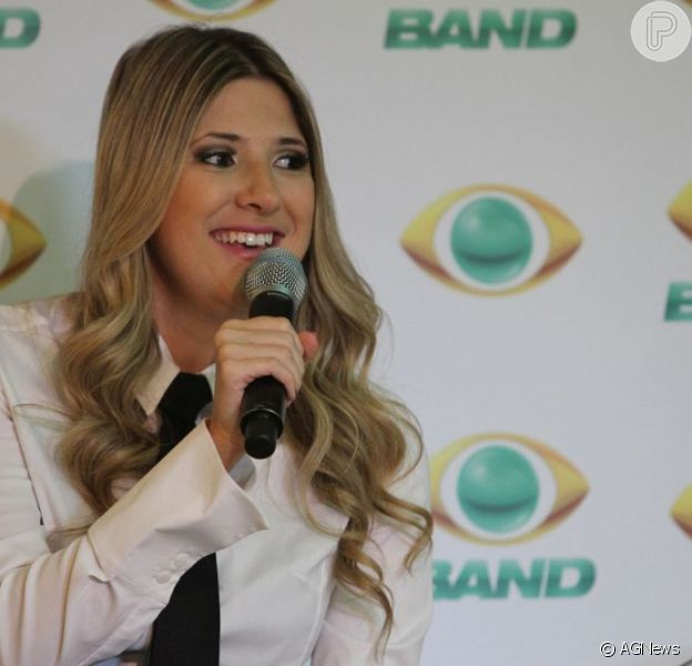 Dani Calabresa estreia no programa 'CQC' em 18 de março de 2013