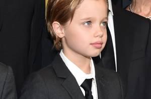 Filha de Angelina Jolie e Brad Pitt, Shiloh segue estilo 'tomboy'. Veja fotos!