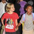 Em setembro de 2013, aos 7 anos, Shiloh apareceu com a camiseta do 'Star Wars'