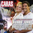 Junno Andrade e Xuxa foram destaque da revista 'Caras' em fevereiro de 2013