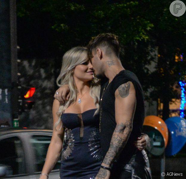 Lucas Lucco é aprovado por loira que beijou em clipe: 'Ele é danado, tem pegada'