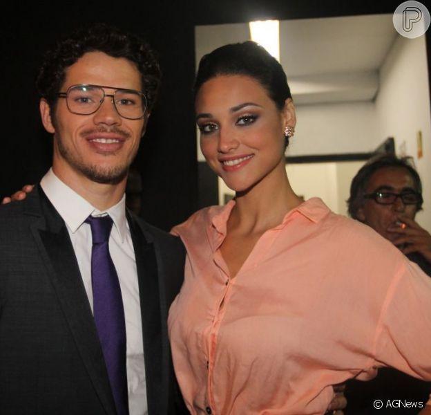 Questionado sobre sentir ciúmes de Débora Nascimento, José Loreto respondeu com bom humor, em uma festa na última sexta-feira, 22 de março de 2013