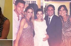 Vanessa Giácomo se casa com Giuseppe Dioguardi em cerimônia íntima, no Rio
