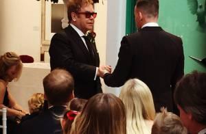 Elton John se casa com David Furnish na Inglaterra. Veja fotos da cerimônia!