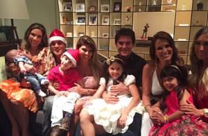 Patricia Abravanel curte primeiro Natal com o filho, Pedro:'Amor, paz e alegria'