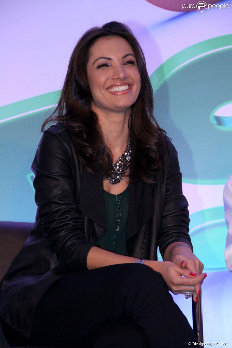 Patricia Poeta pode apresentar programa nas manhãs de sábado na TV Globo